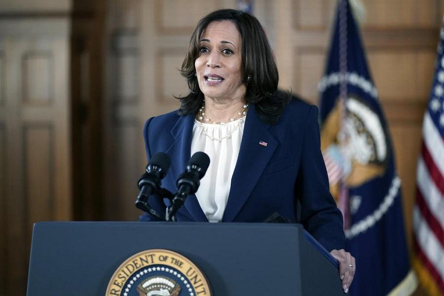 La vicepresidenta de Estados Unidos, Kamala Harris, denunció la existencia de racismo, xenofobia y sexismo en el país durante una visita a Atlanta este viernes. (Especial)