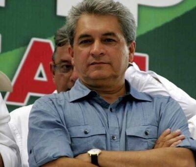 Jueves 25 marzo de 2021. Tomás Yarrington Ruvalcaba, exgobernador de Tamaulipas, por el PRI. / Agencia Reforma