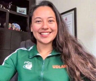 Ana Zulema Ibáñez se consagró con el oro en el estilo libre. (Especial)