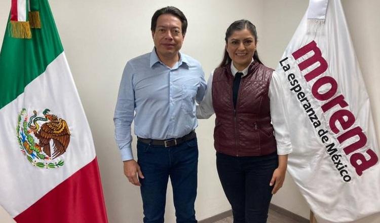 El sentido común se impone en Morena; el Comité Ejecutivo Nacional eligió este viernes a Claudia Rivera Vivanco como candidata a la presidencia municipal de Puebla. Foto: Morena