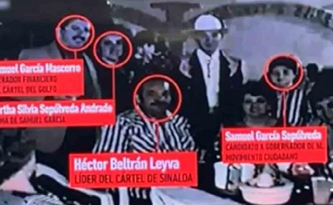 """La grabación data de 1996 y es de la celebración de cumpleaños del hijo de """"El June"""", realizada en Tamaulipas. Foto: Captura de pantalla."""
