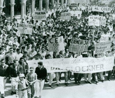 En el movimiento de Reforma Universitaria de 1961 no había hombres, todos éramos chamacos; tampoco comunistas, éramos liberales: Cristina Aguirre. (Especial)