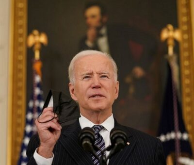 El presidente Joe Biden, este martes en Washington. KEVIN LAMARQUE / REUTERS