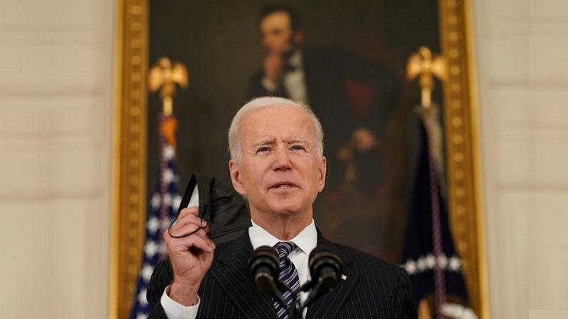 El presidente Joe Biden, este martes en Washington. KEVIN LAMARQUE / REUTERS