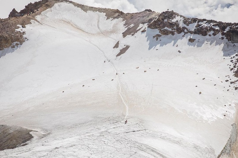 Se extingue el glaciar Ayoloco del volcán Iztaccíhuatl, alerta Geofísica de la UNAM. (Especial)
