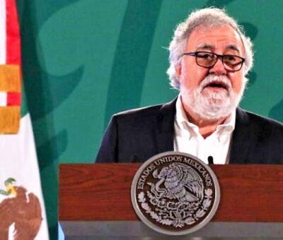 El subsecretario de Derechos Humanos, Población y Migración de la Secretaria de Gobernación, Alejandro Encinas Rodríguez. (Foto / razon.com.mx)