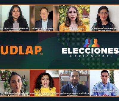 La UDLAP lanzó un programa académico de cobertura y seguimiento a los procesos electorales que habrán de realizarse en el país el próximo 6 de junio. (Especial)