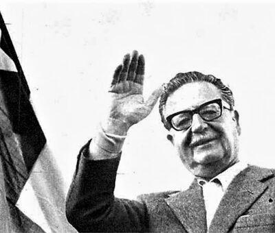 El expresidente chileno Salvador Allende, quien fue derrocado en 1973. Foto: Archivo
