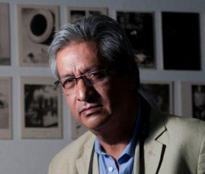 Marco Antonio Cruz, coordinador de Fotografía de la revista Proceso. Foto: Germán Canseco.