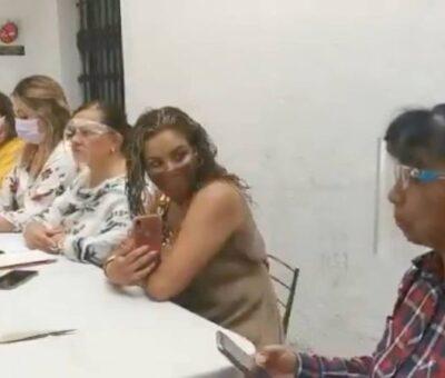 Con antecedentes por violencia de género, candidatos postulados en Puebla: Red Plural de Mujeres Conferencia de la Red Plural. Foto: Twitter @claudiagpolo