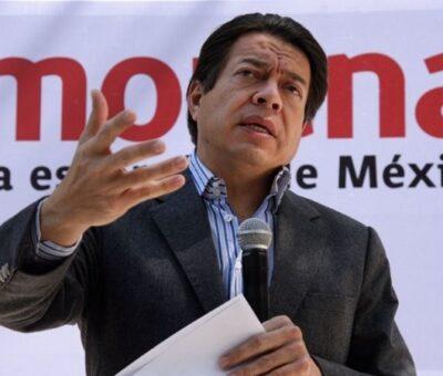 Mario Delgado, convocó a los morenistas a salir a las calles a partir de este 4 de abril y recorrer casas para llamar al voto. Archivo.