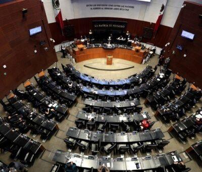 Sesión del Senado de la República. Foto Roberto García Ortiz / Archivo