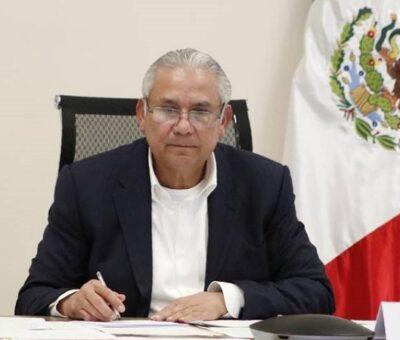 El titular de Seguridad Pública (SSP) Raciel López Salazar y todos los mandos de la dependencia fueron relevados de sus cargos este viernes; Nombran a Rogelio López como encargado de despacho. (Foto: SSP)