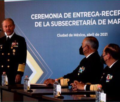 Nombran subsecretaría de la Semar al poblano José Luis Arellano Ruiz. (Especial)