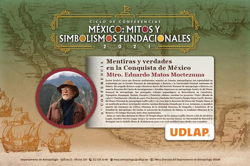 Ciclo de conferencias México mitos y simbolismos fundacionales. (Especial)