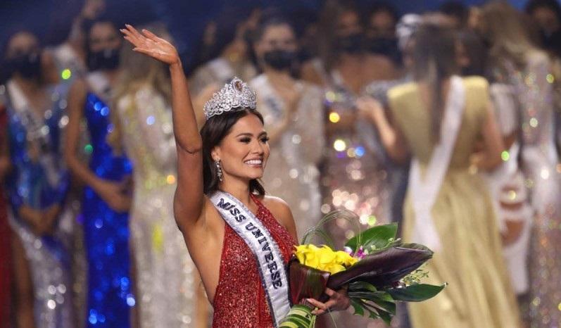 La mexicana Andrea Meza ganó el certamen de belleza Miss Universo 2021. / Foto: AFP.