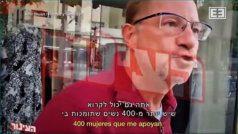 Andrés Roemer reaparece en Israel. (Youtube)