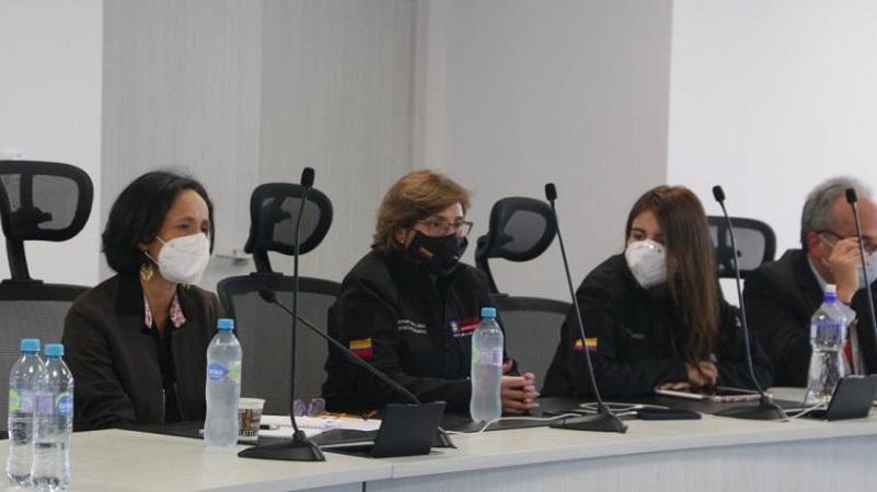 Le entregaron informe a la Defensoría del Pueblo alertando sobre la situación. FOTO: Unidad de Búsqueda de Personas Desaparecidas