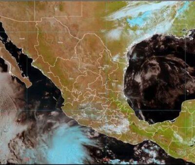 """La tormenta tropical """"Andrés"""" incrementará la probabilidad de lluvias en el occidente, así como en el centro y sur de México. TWITTER@@conagua_clima"""