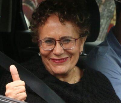 Bertha Lujan, presidenta del Consejo Nacional de Morena. Foto: Cuartooscuro / Rogelio Morales