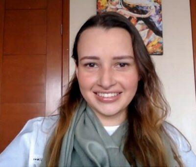 María Teresa Herrera Teague, egresada de la Licenciatura en Banca e Inversiones de la UDLAP y certificada como asesora en estrategias de inversión por la AMIB. (Especial)