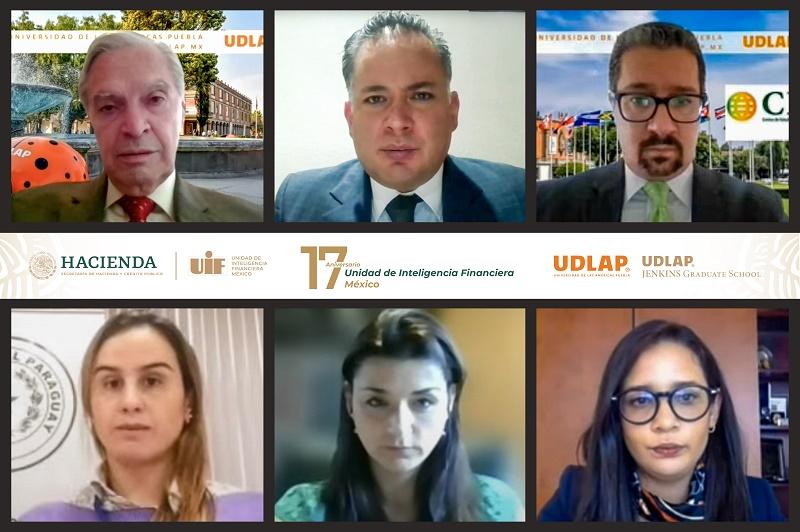 UDLAP celebra 17° aniversario de la Unidad de Inteligencia Financiera (SHCP) (Esécial)