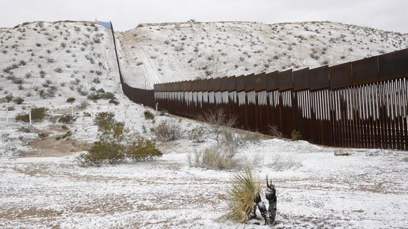 Una vista general de la frontera entre México y Estados Unidos en Ciudad Juárez, en una imagen de febrero de 2020. JOSÉ LUIS GONZÁLEZ / REUTERS