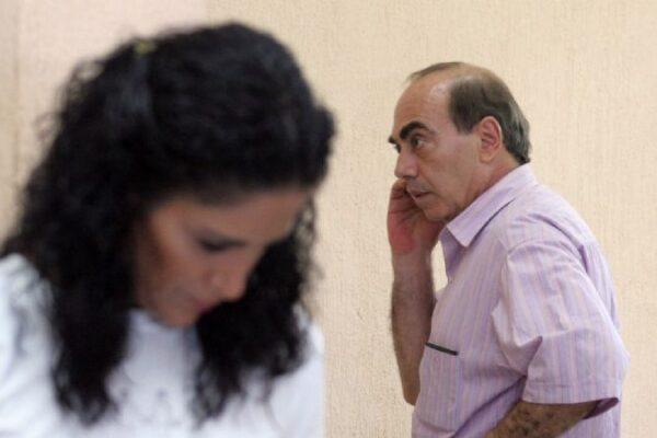 La periodista Lydia Cacho y Kamel Nacif. Foto: Gerardo González