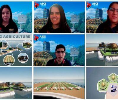 Con proyecto sobre autonomía alimentaria, estudiantes de la UNAM ganan certamen internacional. (Especial)