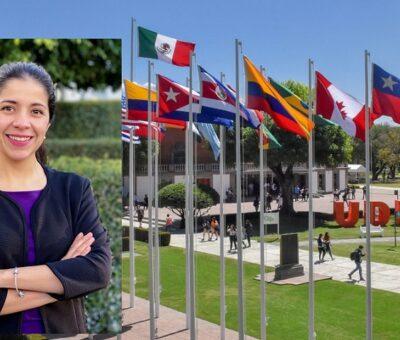 Erika Palacios Rosas, académica del Departamento de Ciencias de la Salud de la Universidad de las Américas Puebla. (Especial)