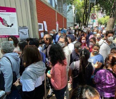 Balance positivo con una copiosa participación de votantes, reconoce el INE. (Especial)