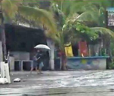 Foto: La tormenta tropical ''Enrique'' ganó fuerza frente a las costas de México en el Pacífico. (Especial)