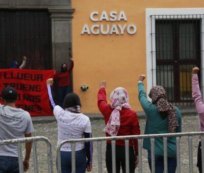 """La CNDH le recordó al gobernador Luis Miguel Barbosa Huerta (PRD) que el uso de la """"Ley Ardelio"""" en contextos de protesta es el último recurso a utilizar. (Foto: Andrés Lobato)"""