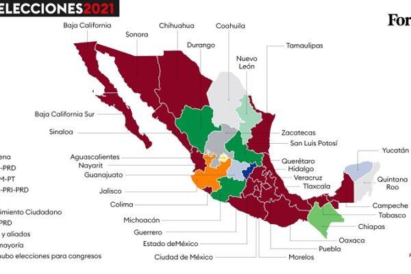 Morena controlará la mayoría de los Congresos del país. (INE).