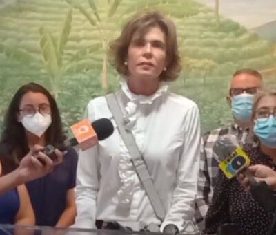 Tribunal de Nicaragua ordena detener a la precandidata presidencial Cristiana ChamorroCristiana Chamorro, precandidata presidencial de la oposición en Nicaragua. Foto: Twitter @chamorrocris