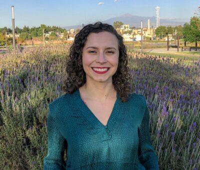 Nadia Álvarez Romero, egresada de la licenciatura en Ingeniería Química de la UDLAP. (Especial)