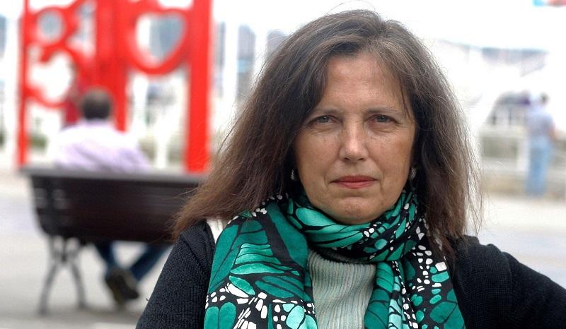 Claudia Piñeiro, el jueves en la Semana Negra de Gijón. JUAN GONZÁLEZ / EFE