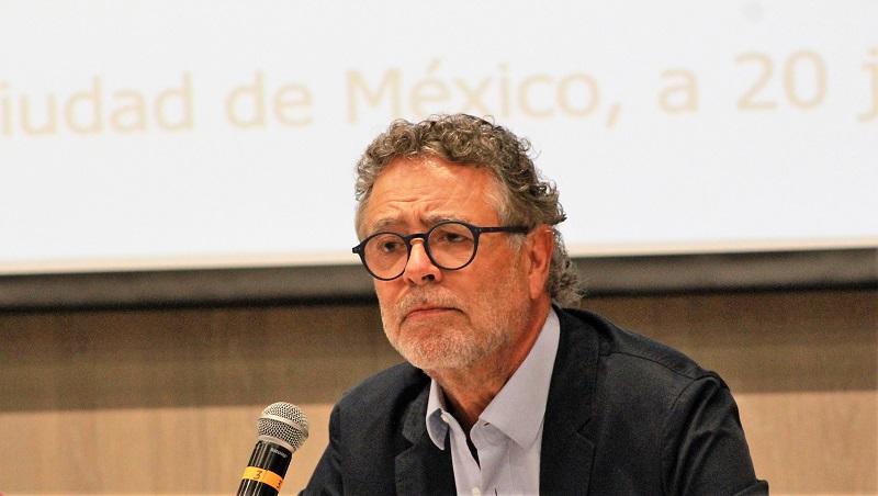 """Fernando Lerdo de Tejada, uno de los oradores en la presentación del """"nuevo"""" grupo al interior del PRI. (Especial)"""