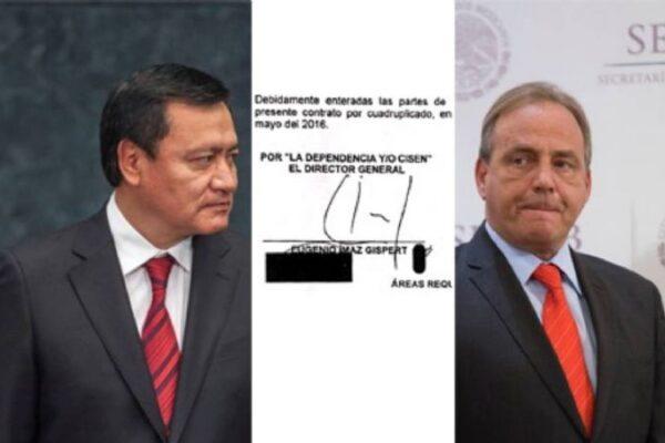 Miguel Ángel Osorio Chong y Eugenio Imaz, como uno solo. Foto: Proceso foto