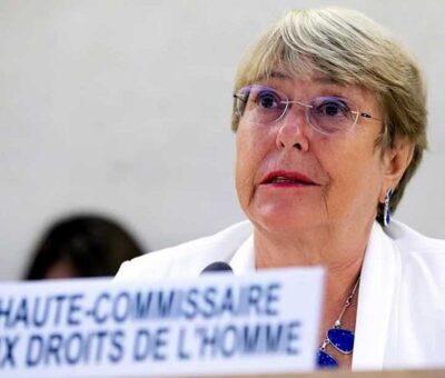 Michelle Bachelet, Alta Comisionada de Naciones Unidas para los Derechos Humanos. Archivo