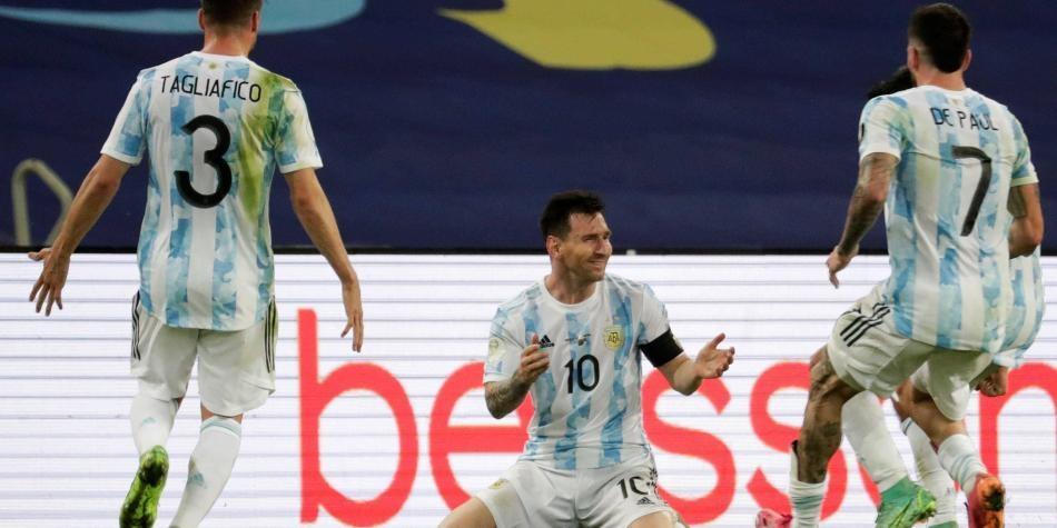 Campeones en Brasil FOTO: AFP