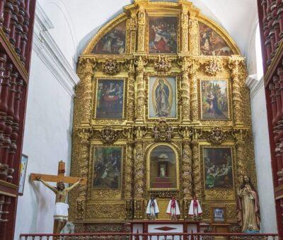 Catedral de Tlaxcala. (Andrés Lobato)