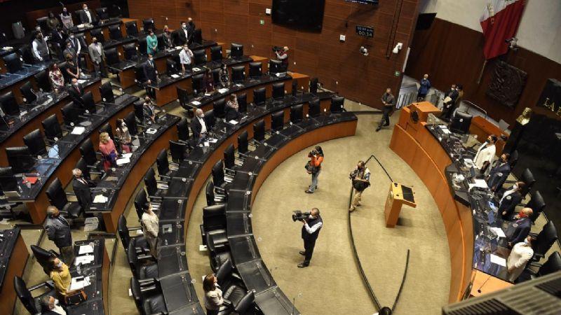 Sesión de la Comisión Permanente del Congreso de la Unión. Foto: Octavio Gómez