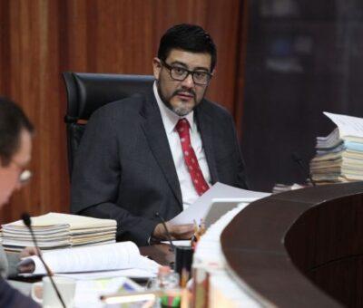 El magistrado Reyes Mondragón Rodríguez . Foto: Benjamín Flores