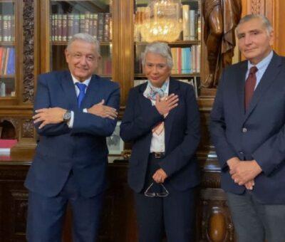 AMLO nombra a Adán Augusto como sucesor de Sánchez Cordero en la Segob. (Especial)