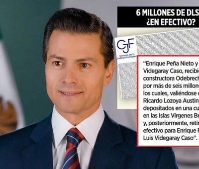Odebrecht sobornó con más de 6 millones de dólares al ex Presidente Enrique Peña Nieto y al ex Secretario de Hacienda, Luis Videgaray, a través de un depósito en Islas Vírgenes. (Especial)
