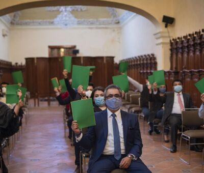 Consejo Universitario BUAP aprueba regreso presencial, escalonado y con aforo mínimo de estudiantes de áreas experimentales y clínicas. (Especial)