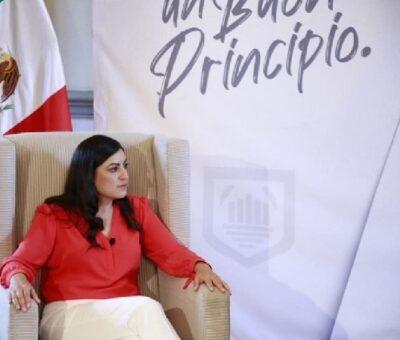 Claudia Rivera Vivanco, sugirió a su sucesor Eduardo Rivera Pérez no subordinarse al gobernador Luis Miguel Barbosa Huerta