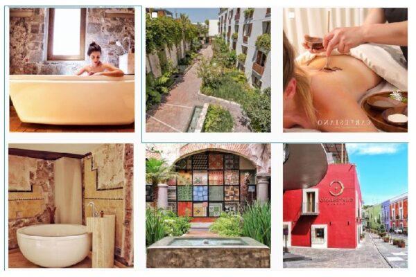 El lujoso hotel de Puebla Cartesiano Urban Wellnes Center (Cortesía)