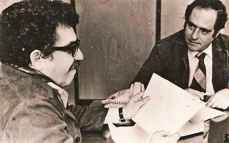 """""""A Gabriel García Márquez le conté el golpe de Estado en Chile"""". Foto: Archivo privado de Manuel Mejido"""